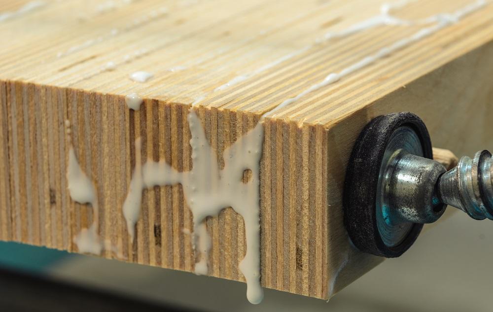 sticking wood together