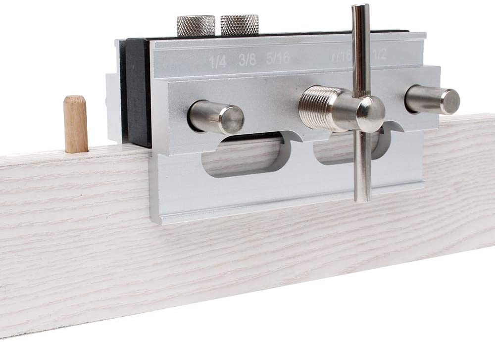 dowel jig and screws